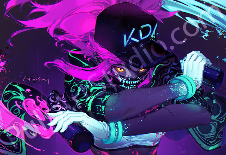 LoL: Popstar Akali (avail. as mat)