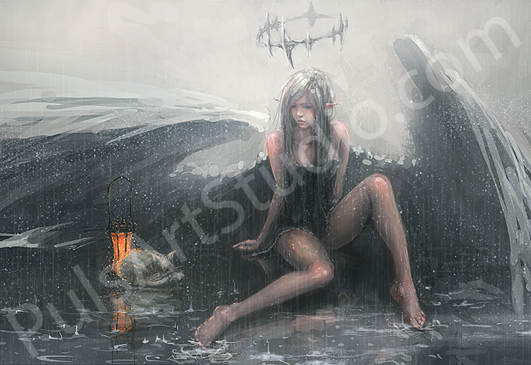 Original: Lonely Angel (avail. as mat)