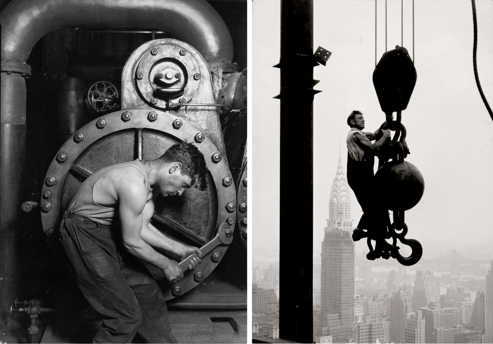 Photographs by Lewis Hine: 'Men at Work'