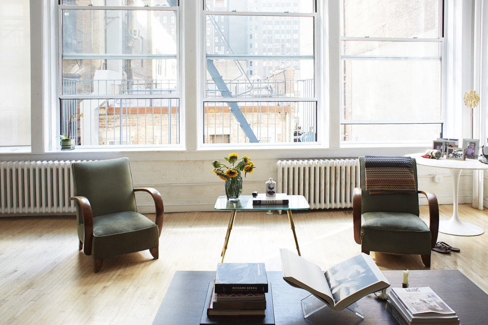 Valerie's Downtown Manhattan Loft.