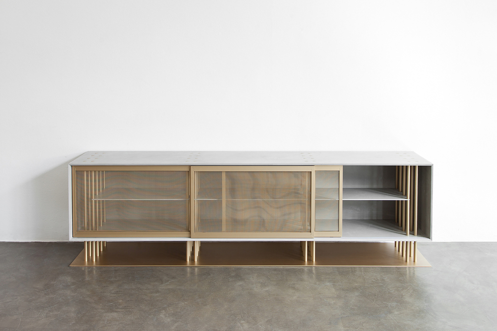 Washington, Credenza from Laisse Béton Collection. Courtesy of Atelier d'Amis.