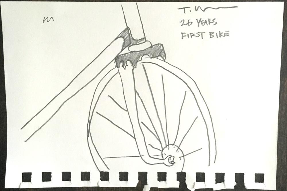 Thomas's First Make: Bike, Age 26.