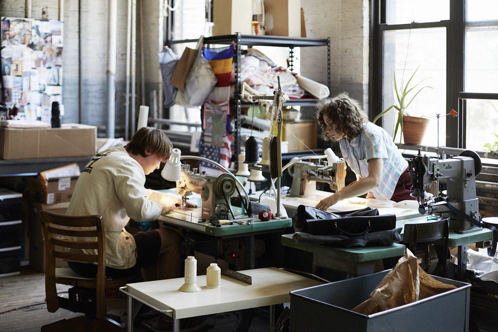 The D'emploi workspace at Knickerbocker Manufacturing Co.