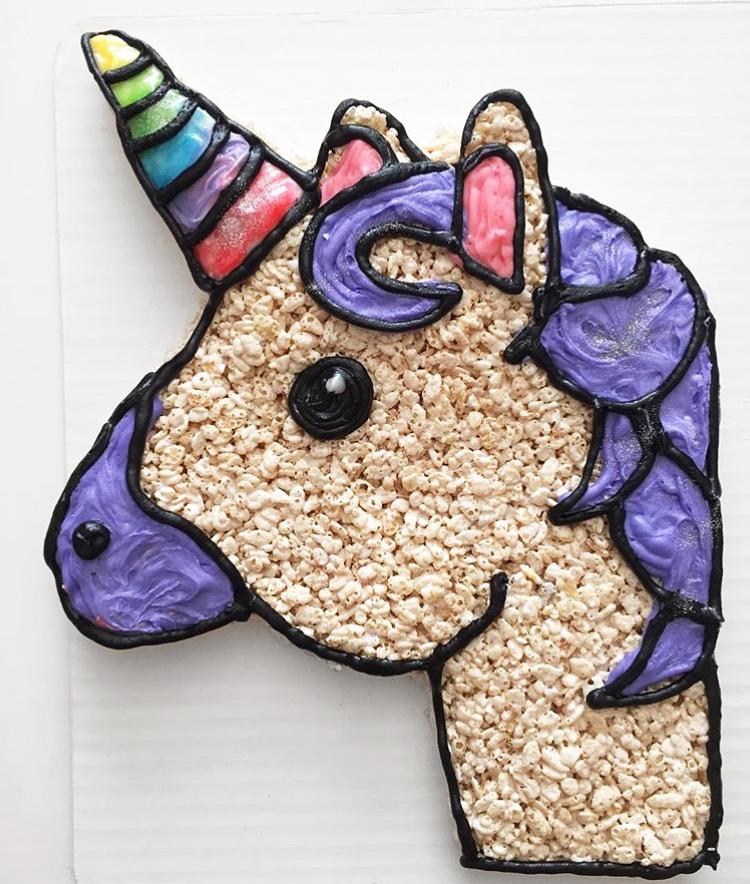 Jessica's Last Make: A unicorn.