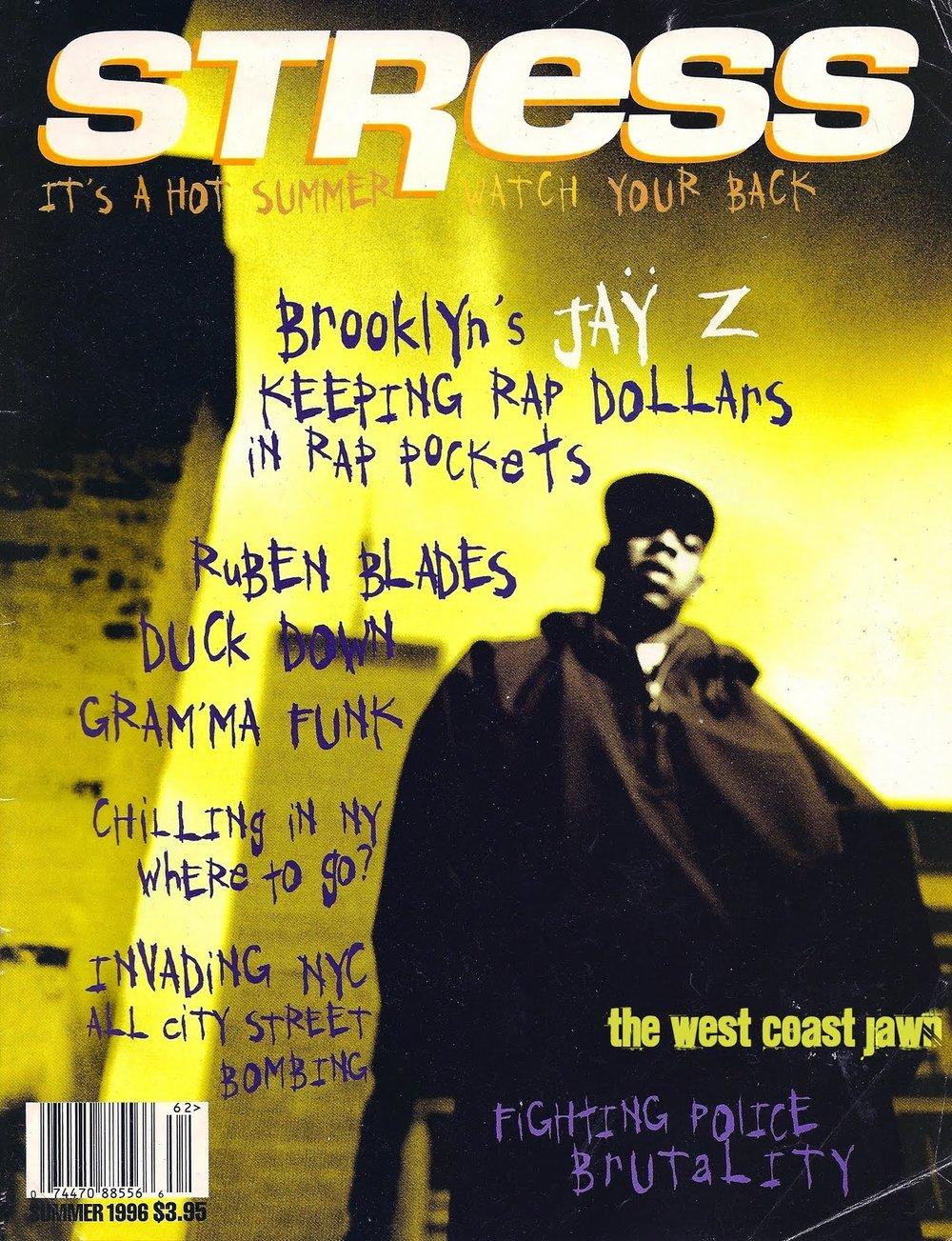 Stress Magazine, 1996.