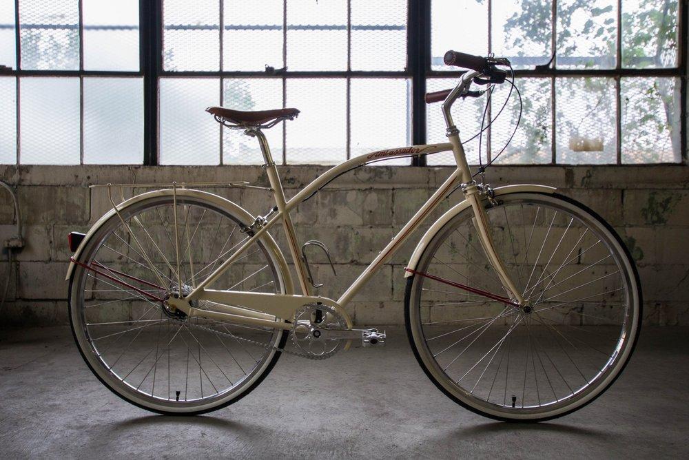 """Chris's Last Make: """"The Ambassador."""" Courtesy of Detroit Bikes."""