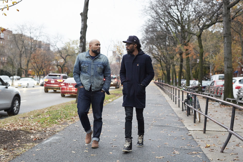 Lenny and Yahdon walk around Lenny's neighborhood in Kensington, Brooklyn.