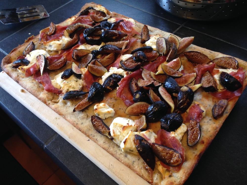 Fig Prosciutto Pizza (click image for full recipe)
