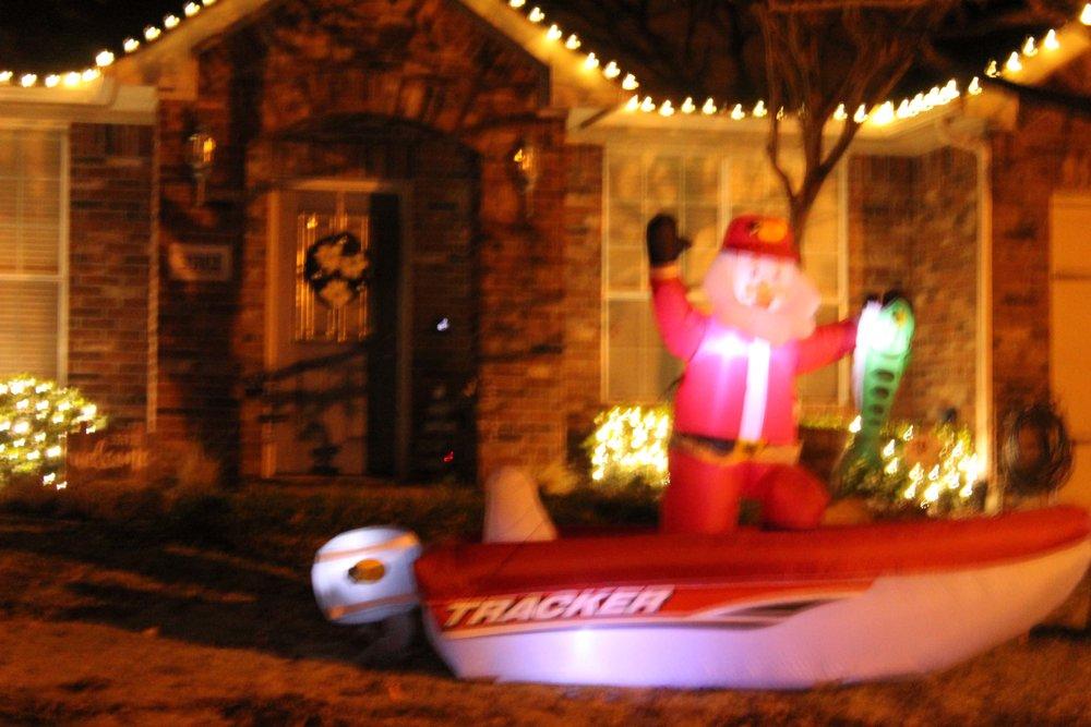 Santa on a boat.JPG