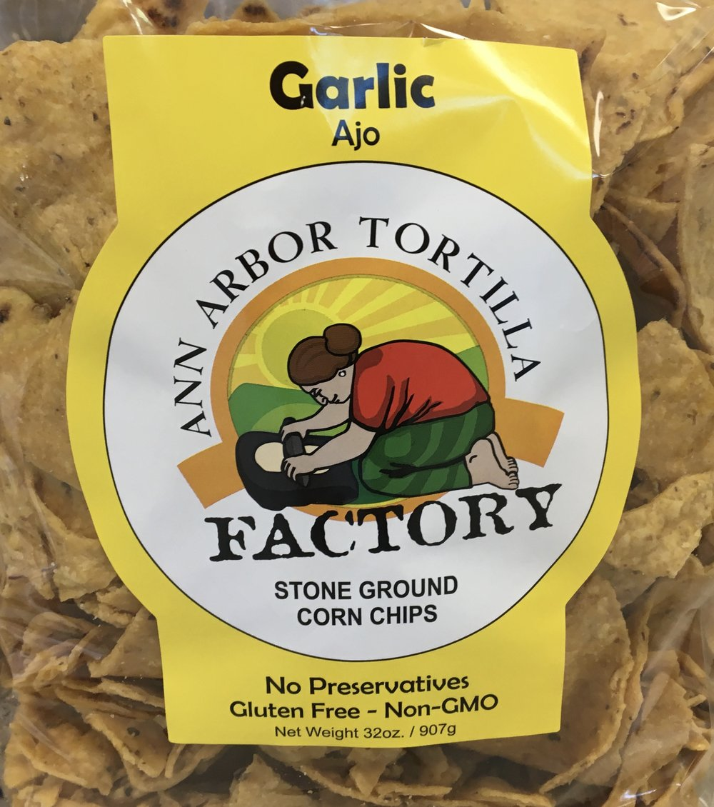 locally made tortilla chips