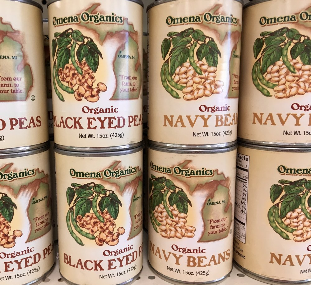 beans from omena, michigan