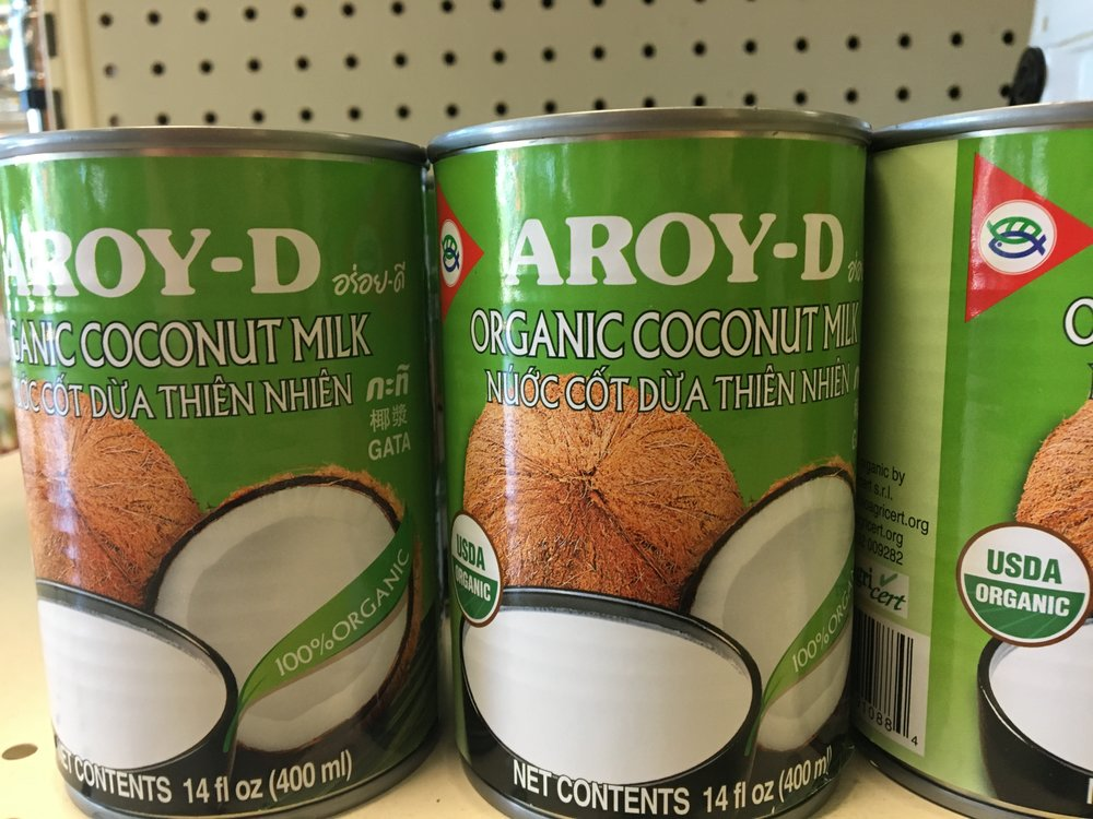 organic coconut milk (we provide case discounts)