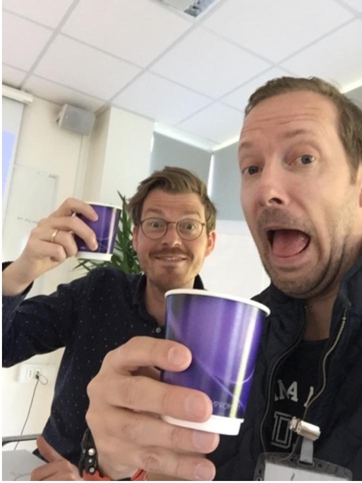 Tæt på kunden Kaffe Harald og Jesper