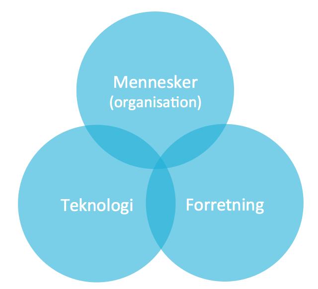 Organisation, Teknologi og Forretning