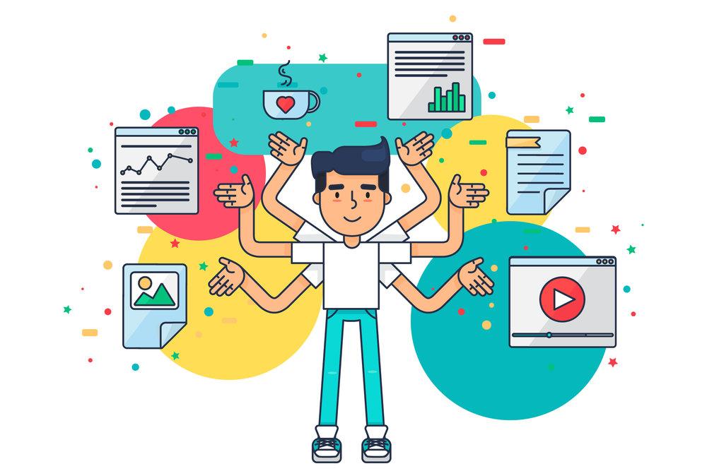 Dine medarbejdere er lige så vant til at bevæge sig imellem en bred vifte af digitale ressourcer, som dine kunder er - og næsten lige så utålmodige :)