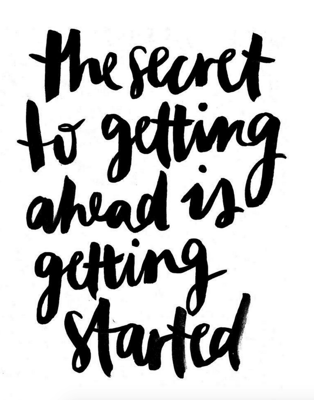 secret_to_getting_ahead