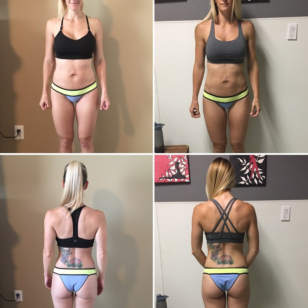 5.5 months postpartum to 7 months postpartum (6 week time lapse).