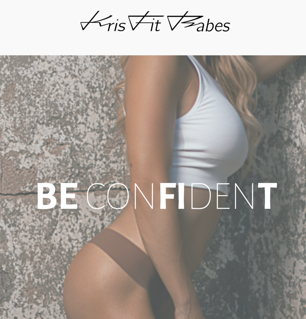 A fitness & Nutrition website to help you find your most confident self.