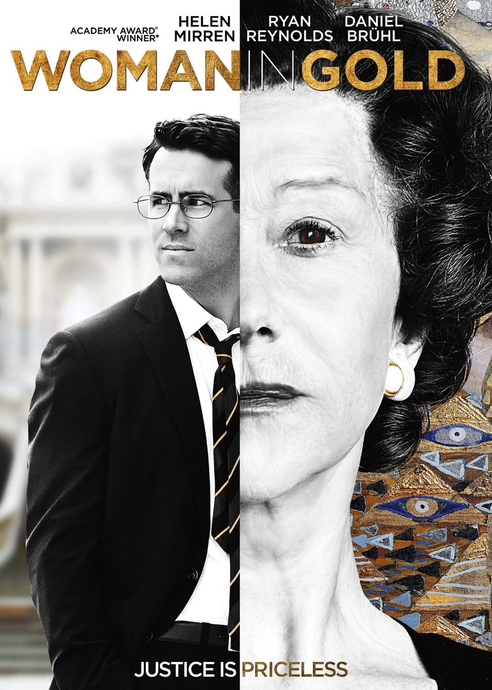 Woman in Gold Poster   Source: http://www.amazon.com/Woman-Gold-Ryan-Reynolds/dp/B00VU4YO7K