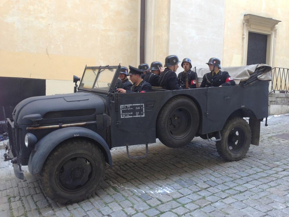 Steyr 1500A at Burggasse
