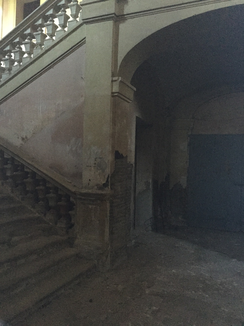 stairs in the main building