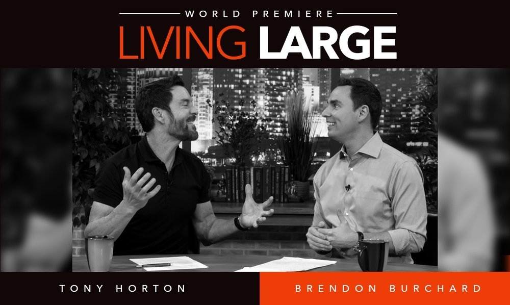 Living Large with Tony Horton!  Get Tony Horton's hot new course and over $500 worth of bonuses!  Ever feel like there's something much bigger in store for you?  Do you crave the next level, but find yourself unsure as to how to get there? Ever feel like you can't really reach your full potential without new strategies and mentorship from people that are already where you want to go?  Well, this is your exclusive invite to have Tony Horton as your own personal success coach. He'll share with you the strategies and perspectives that have brought success to him and his students throughout his life and career, as well as the strategies you must implement in order to bust through your blockages and take your health, wealth, relationships, and happiness to the next level!  Do you want Tony's help staying focused and on track? Are you ready for your best year?   Living Large With Tony Horton Is Exactly How!   This action-oriented course will allow you to find your purpose and bring more intensity and consistency into everything you do and pursue, so that you can enjoy life even more. Life is intended for LIVING, not merely existing.  Throughout this training, Tony will share his tips, tricks, and strategies on how he has overcome challenges and generated success throughout his life, and how you, too, can cultivate and live a healthy, happy and abundant life.   When you enroll in Living Large With Tony Horton today, you'll receive:    Training Section #1 – The 3 Laws of Variety, Consistency and Intensity : Tony covers these three arenas, honing in on the strategies for bringing more of each into your life physically, emotionally, as well as socially. It's time to feel what it's really like to focus, to pour all your energy into something, and to live fully in each moment.   Training Section #2 – Your Purpose and Potential Outcomes : In this section, Tony supports you in exploring and understanding who you  really  are and what your purpose on this earth is. He'll also support you in identifying any fears that might be holding you back, as well as anticipate any and all outcomes that you may face as you pursue your goals.    Training Section #3 :  Planning and Prioritization : This section is about bringing out the hammer and chisel, and getting to work! Tony provides you with the tools and strategies to formulate a plan, decide what you want and plot an effective course to get there. He also provides you with the glue to any good plan - techniques for prioritizing, scheduling and building in accountability. With this section under your belt, you'll go from merely surviving, to wholly  thriving .    Training Section #4:   Balance and Progression : In this section, Tony shares what it takes to recharge, recover and relax (and why this is vital to your success!) He also gives you the tools to make meaningful progress and momentum toward your goals, with an emphasis on getting out of your comfort zone!   Training Section #5:   Breakthroughs + Takeaways for Building Momentum : In this section, Tony supports you in celebrating the new you, while also being prepared to face the potential trials and tribulations that may come your way now that you're taking on more in your life. This is all about positioning your perspective going forward, and approaching people, opportunities and legacy habits in a whole new way.    Bonus #1 - Two Tickets To The 2017 Growth Summit:  (Value $594) Join us LIVE at our 3-day Growth Event, featuring Larry King, Brendon Burchard, Dean Graziosi and many of the best motivators and teachers in the world! Details Coming Soon. Fall 2017 ~ Scottsdale, AZ   Bonus #2 - One High Performance Group Coaching Call:  (Value $197) One free virtual high performance group coaching session to help you identify your goals and become even more effective in all areas of your life.