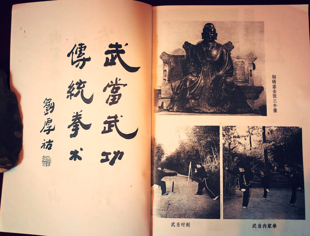 Wudang martial arts practice at Laoshan in the 1980's -  Wudang Wugong