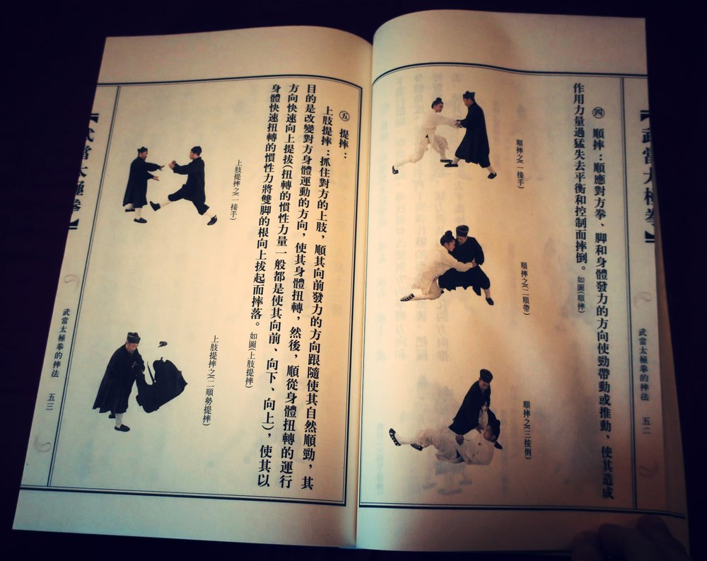 Basic Taiji throwing techniques from master Zhong's  Wudang Taijiquan