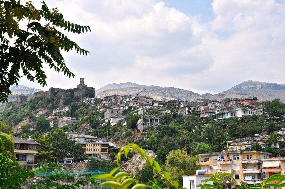 Castle & Old City of Gjirokastra, Albania