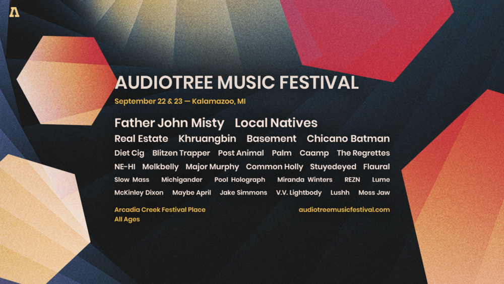 Audiotree Music Festival returns to Kalamazoo, MI, Sept 22 & 23.
