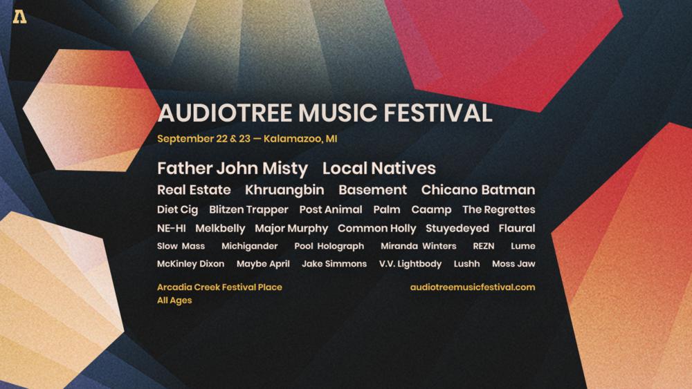 Audiotree Music Festival returns to Kalamazoo, MI, Sept 22 & 23.