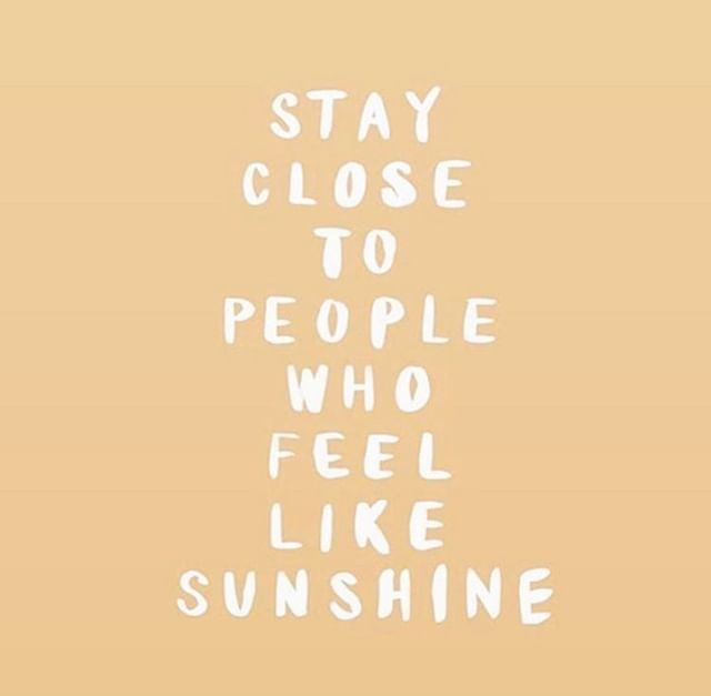 & hold on tight to them! Be with the people that make you feel like sunshine this weekend ☀️