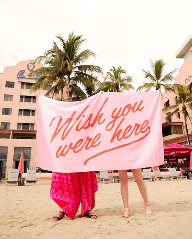 Wishing we were somewhere on a beach! Happy Wednesday 💕⠀⠀⠀⠀⠀⠀⠀⠀⠀ 📸via @shopbando
