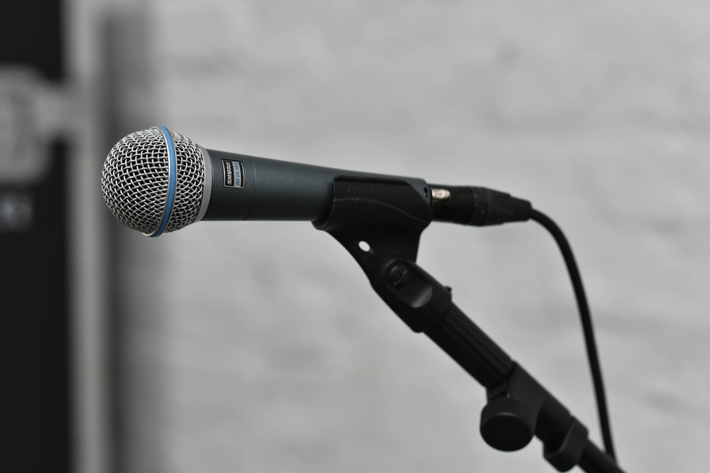 MICROPHONES:  OVER 200 in stock!