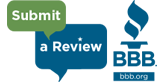 Submit a BBB Review logo - At Your Service