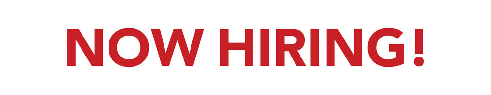 Now Hiring! Banner - At Your Service, Inc.