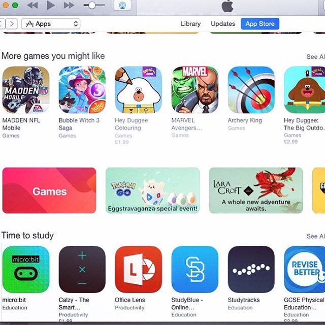 We made Apple AppStore front page! 👊🏽 Big! #studytracks #studylikethis #studyanywhere #studyeverywhere #education #study #app #appstore