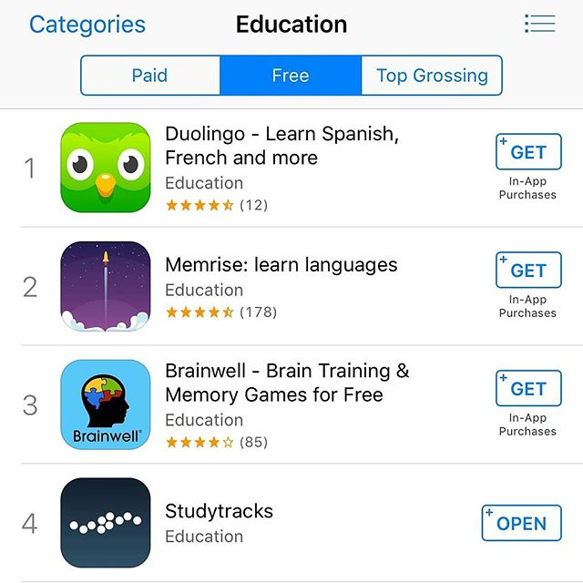 May the 4th be with you! Happy #starwarsday as we're 4th in the iTunes app store for Education. Over 1,000 downloads a day 📲 🖖 #maythe4th #education #gcse #SAT