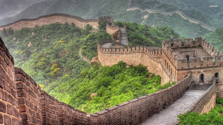 Great Wall of China   - Digital Artist Unknown