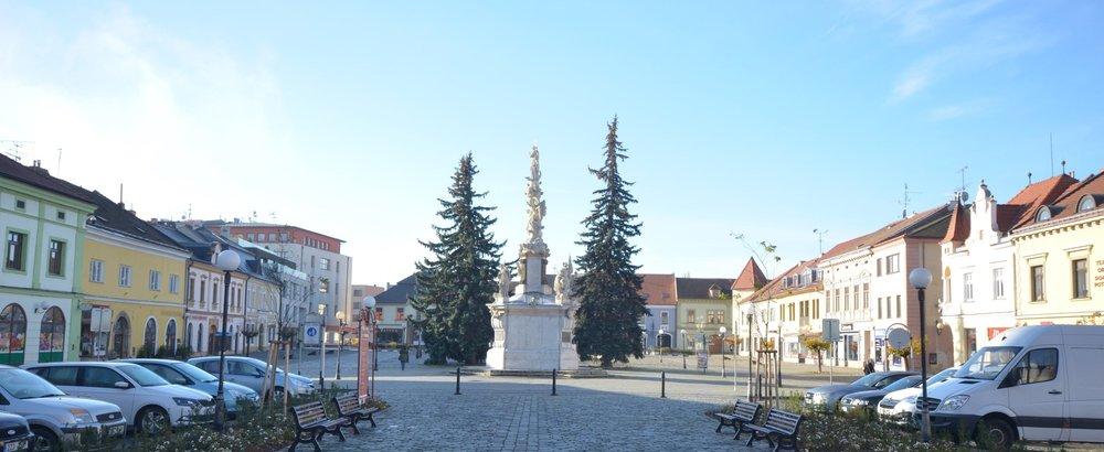 wayfinding system  Uherské Hradiště -