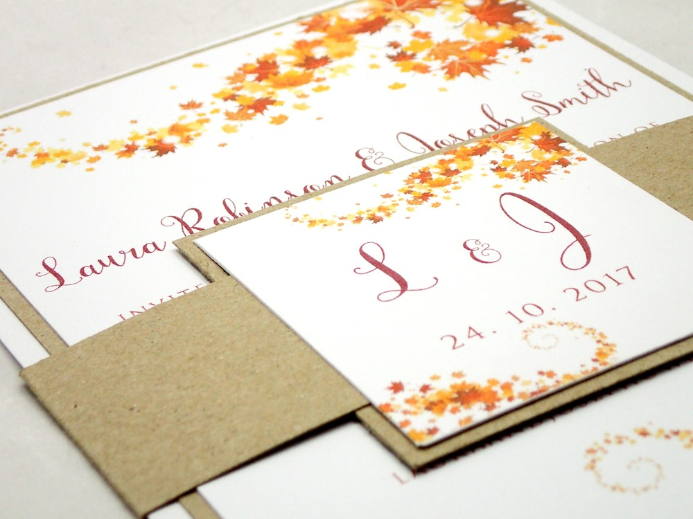 Oak Aptly Names As The Swirling Leaves Of Design Are Burnt Orange Yellow And Brown In Colour This Autumn Stationery Range