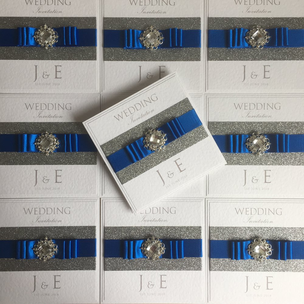 Leto Glitter Wedding Invitations