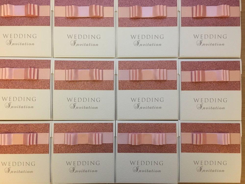 Asteria - Glitter Wedding Invitations