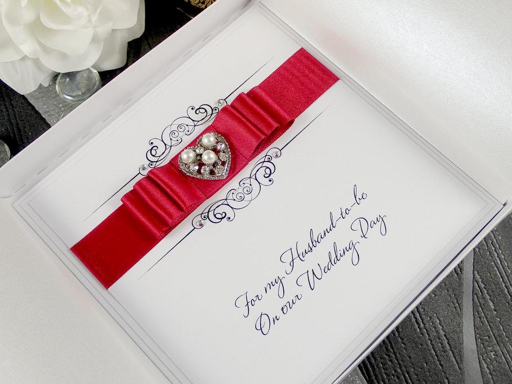 On Our Wedding Day Handmade Card