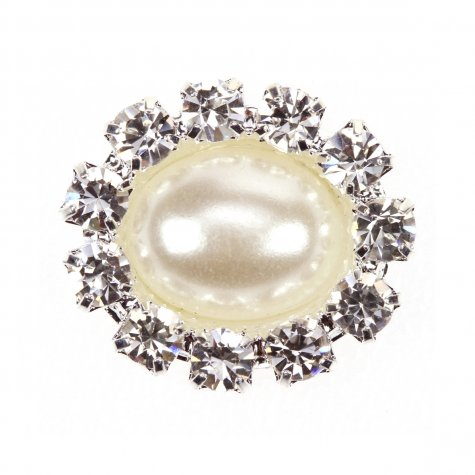 Diamante Pearl Oval