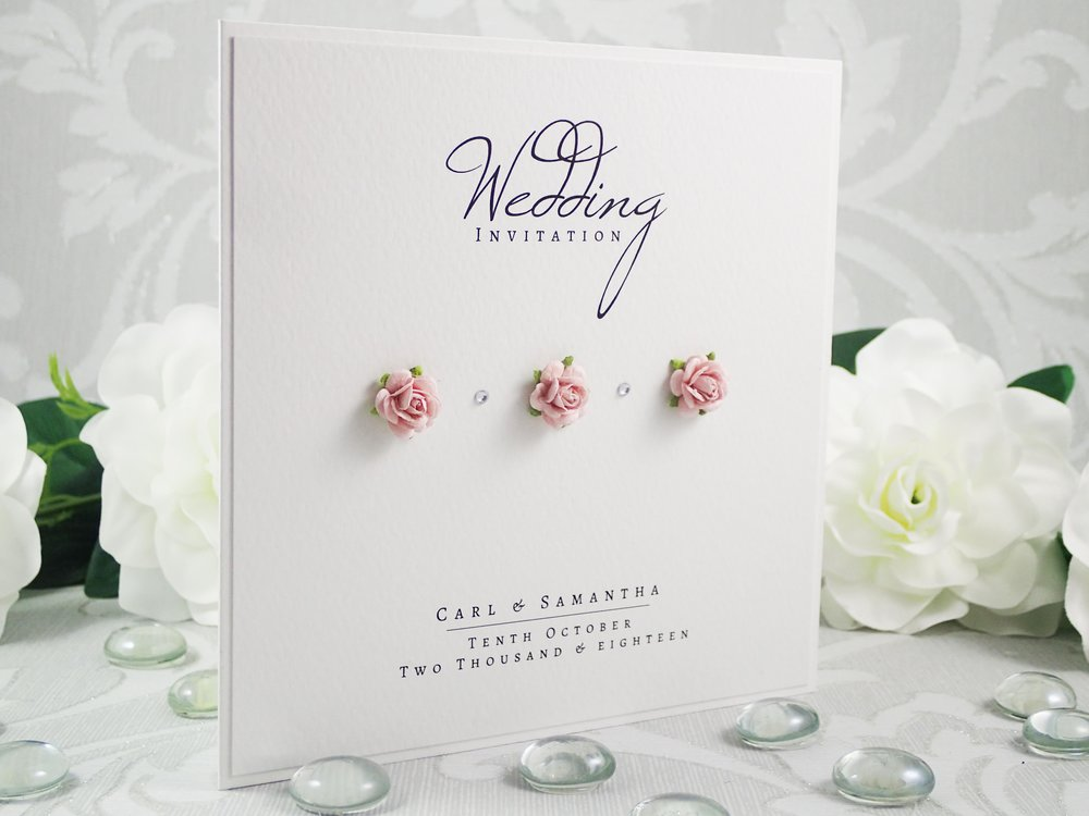 Eos - Classic Collection - priced from £1.99Cute and romantic, Eos uses gorgeous mulberry paper flowers alongside elegant typography for a subtle and modern design.