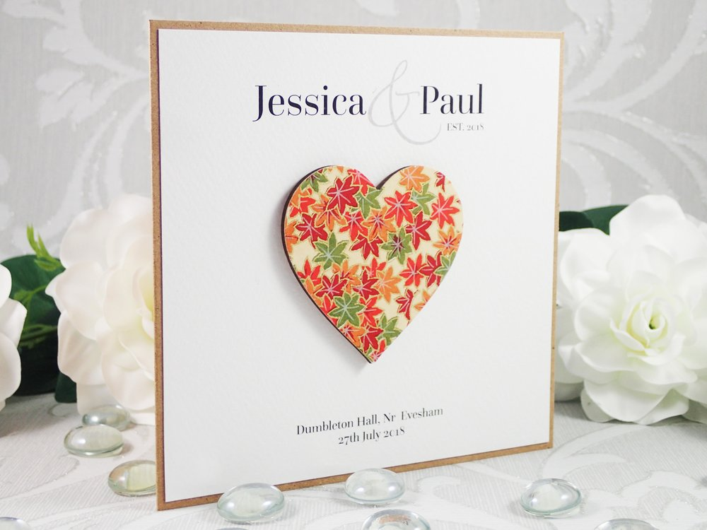 Rhea - Classic Collection - priced from £1.99Rustic and effortlessly simple, our new Rhea collection is a great design for a vintage or barn wedding. Delicate wooden hearts and twine are combined on kraft cardstock for a modern, back-to-nature final design.