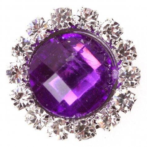 Circle Gem Purple