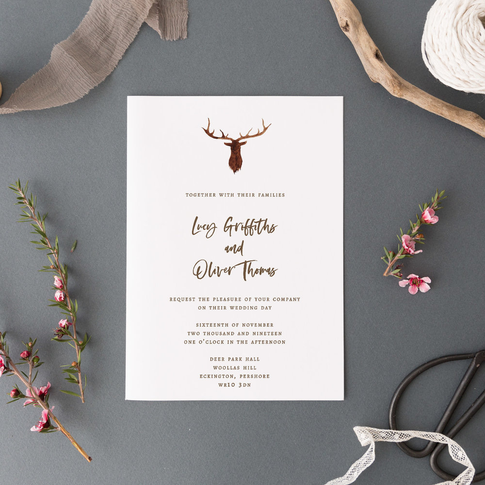Highgate Invitation - Ink Gild