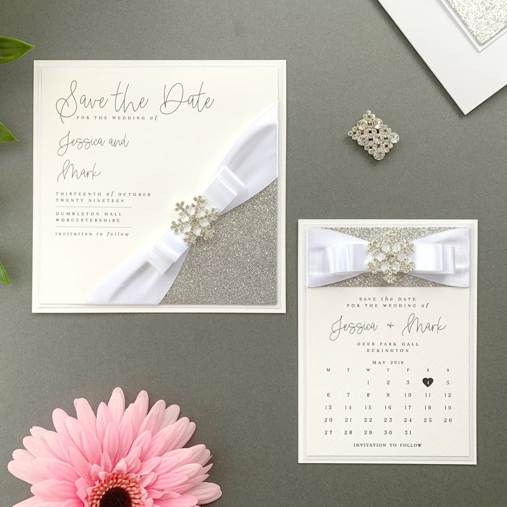 Leto Save The Date Card
